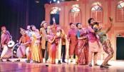 Kanjus delights Shilpakala audience