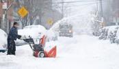'Bomb cyclone' hits eastern US