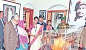 President visits  Shilaidaha  Kuthibari