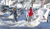 US shivers as temperature  hits record low
