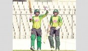 Tamim tunes with  ton in warm-up