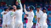 England 93-4 at the close, trail Australia by 210 runs