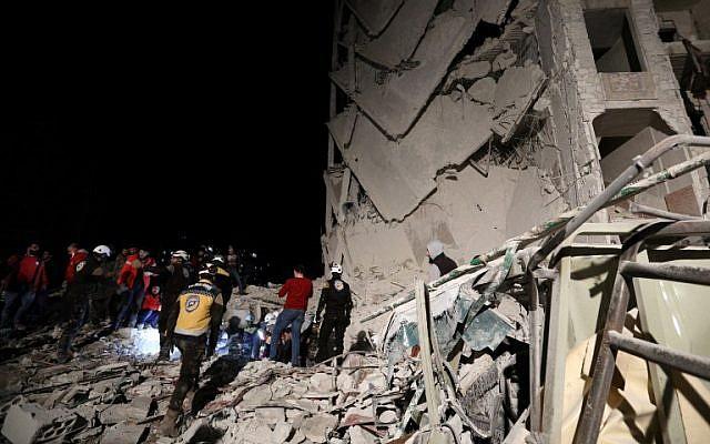 Activist: Car bomb kills 23 in Syrian rebel-held Idlib city