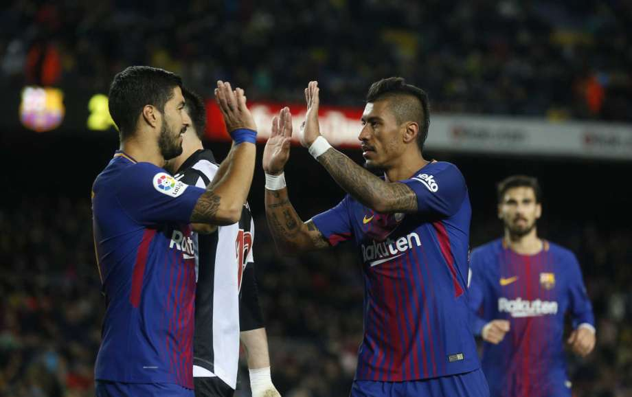 Barca wins 3-0 before Coutinho arrival; Madrid drops points