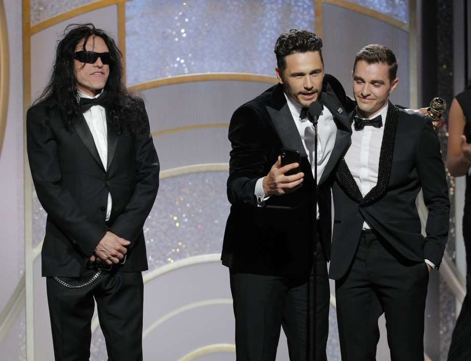 Franco wins best comedy actor Globe for 'The Disaster Artist'