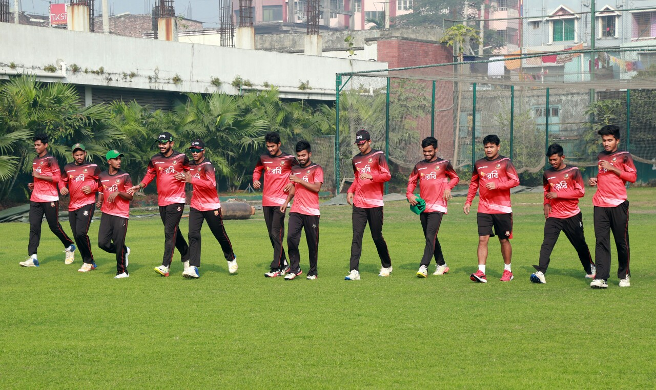 Bangladesh U-19 lost to Afghanistan in practice match