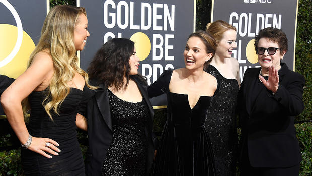 Globes TV awards echo show's theme of empowerment