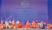Nat'l Instrumental Music Fest underway at Shilpakala