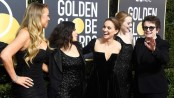Globes TV awards echo show's theme of empowerment