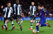Messi marks new milestone in Barcelona victory