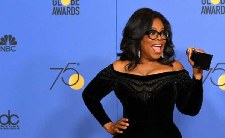 Oprah declares 'new day' for women