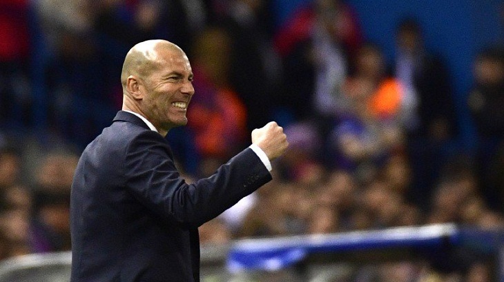 Zidane named French coach of the year