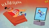 Costa Watches Morata's Hat-Trick