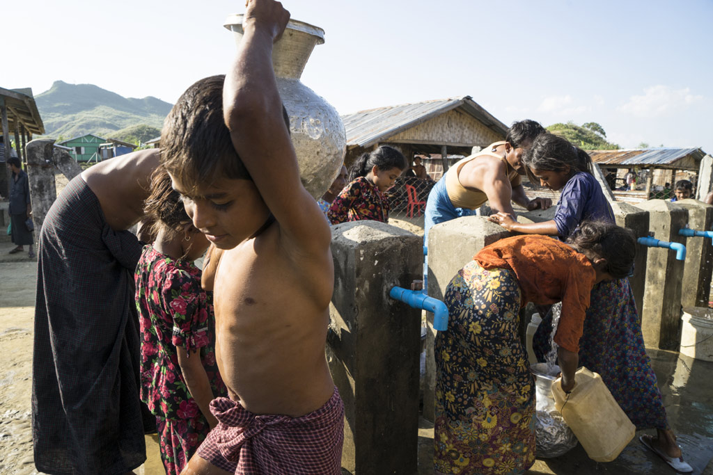 Rohingya children trapped in 'appalling' conditions in Myanmar's Rakhine state: UNICEF