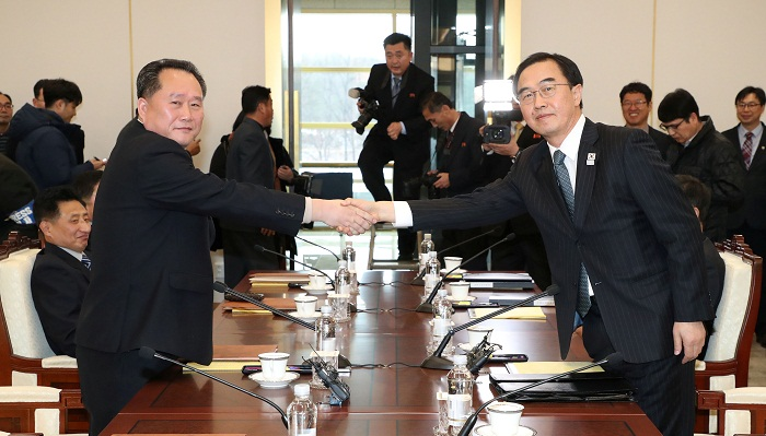 US welcomes North and South Korea Olympics talks