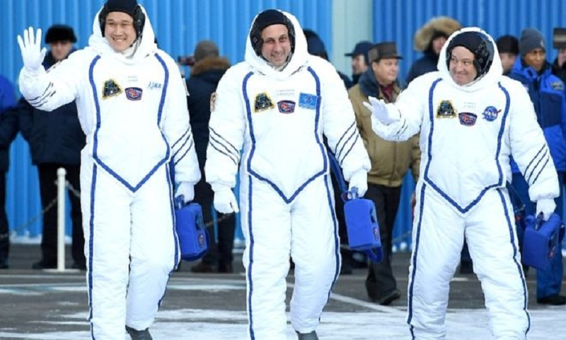 ISS: Japanese astronaut Norishige Kanai worried by growth spurt