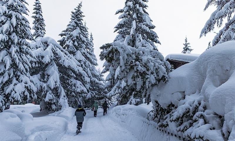 Snowfall leaves 13,000 stranded in Swiss Alps