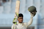 Mominul Haque strikes double ton