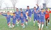Jui, Srabonti shine in Youth Games