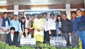 Photo exhibition on  heritage held at PU