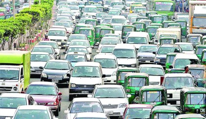 Private cars responsible for city traffic tangle