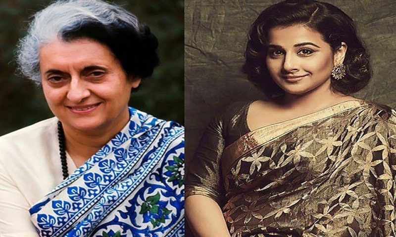 Vidya Balan to play Indira Gandhi on screen