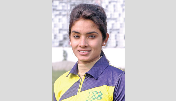 Disha Sultana lights up in Youth Games