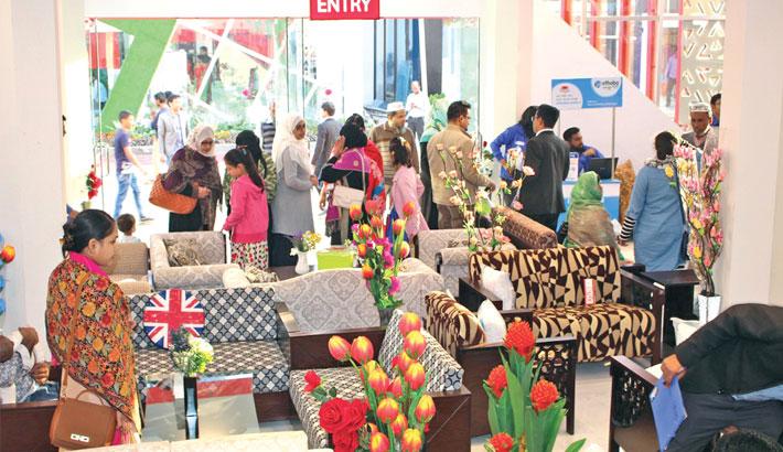 Regal Furniture displays  new designs at DITF