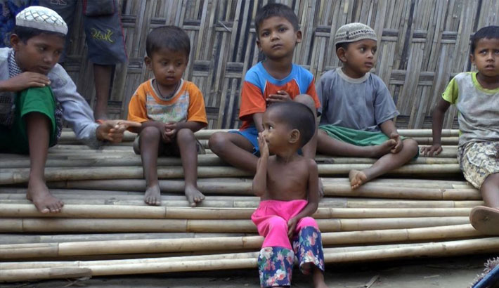 60,000 Rohingya children remain trapped in Rakhine