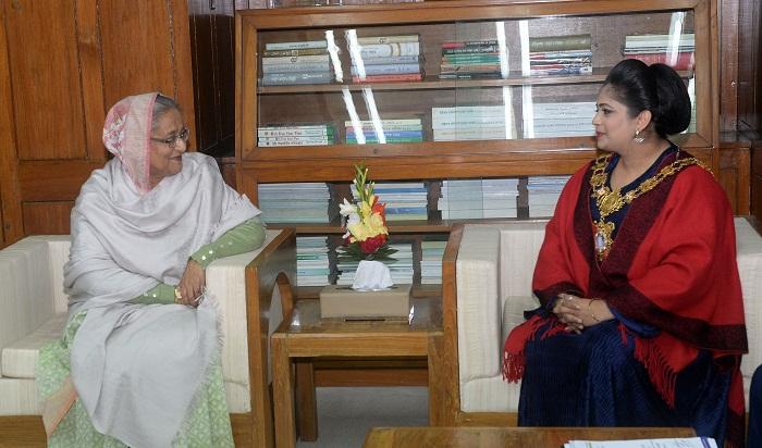 Tower Hamlets speaker praises Bangladesh's development