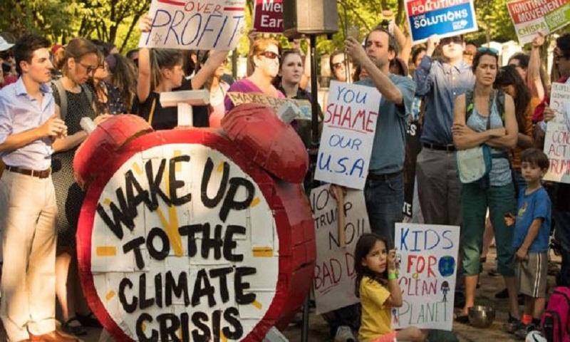 Climate change: Trump says US 'could conceivably' rejoin Paris deal