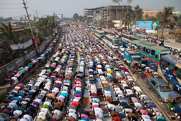 Lakhs of Muslims attend Juma prayers at Ijtema ground