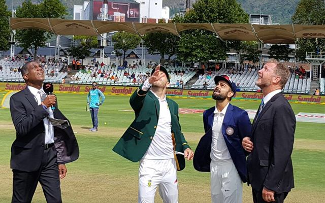 South Africa win toss, opt to bat in second test v India