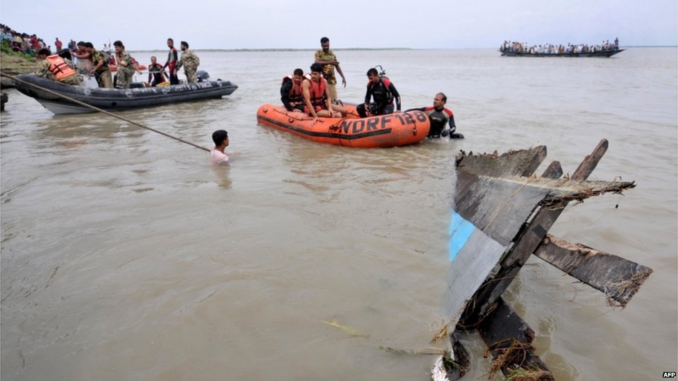 Boat with 40 school children capsizes in western India, at least 4 dead