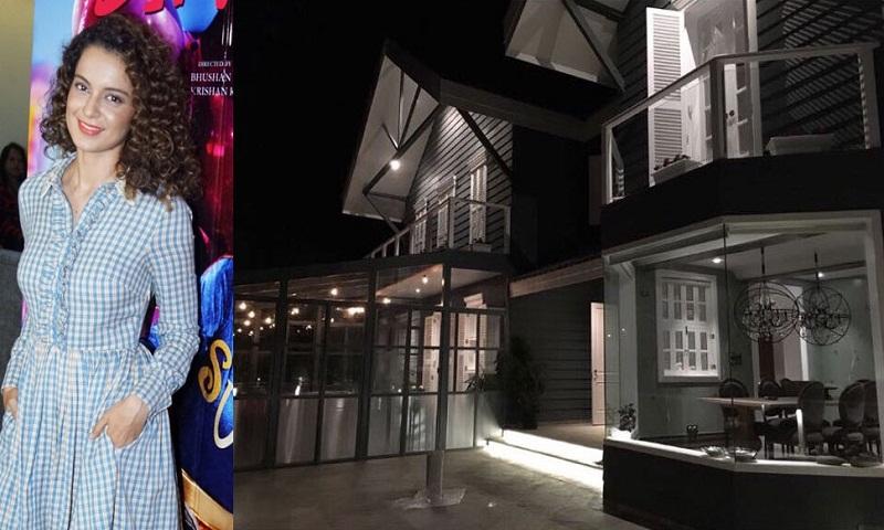 Kangana Ranaut's Manali bungalow costs Rs 30 crore?