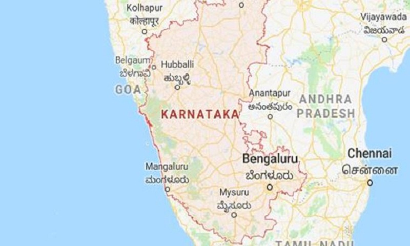 8 die as bus falls into pond in southern India