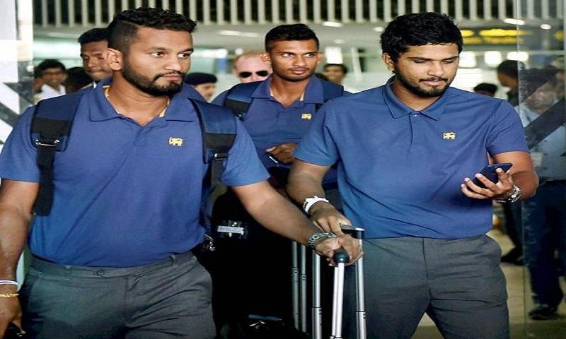 Sri Lanka cricket team arrives Dhaka