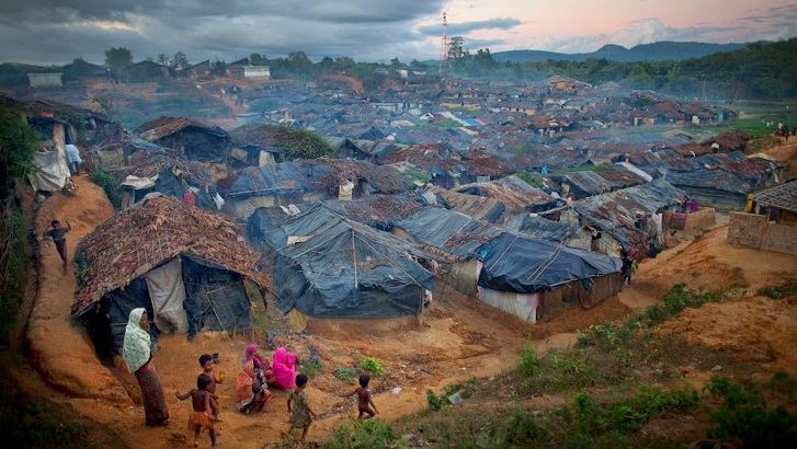 Rohingya clash kills 1, hurts 5 in Kutupalong Camp