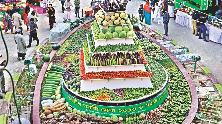 3-day National Vegetable Fair begins Sunday