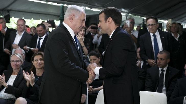 Netanyahu urges Macron to 'fix' Iran nuclear deal