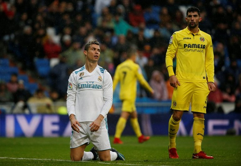 More jeers for Real Madrid after home loss to Villarreal