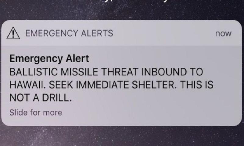 Hawaii missile alert: False alarm sparks panic in US state