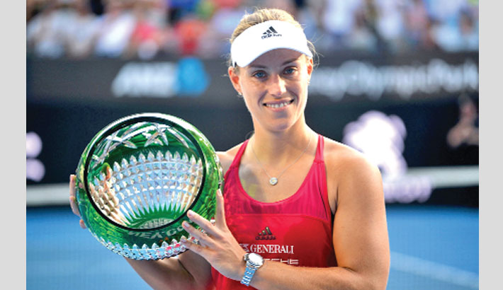 Kerber beats Barty to win Sydney title