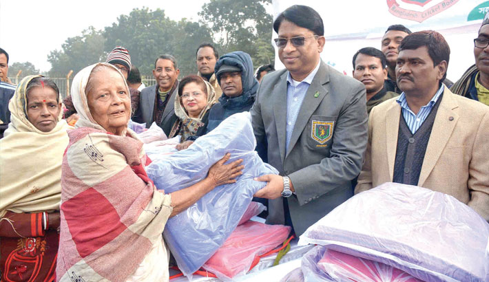 Distributing blankets