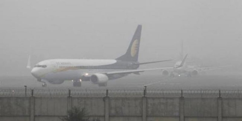 Fog disrupts flight operations, ferry services