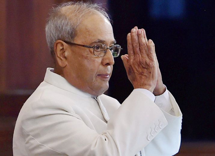 Former Indian President Pranab Mukherjee arrives in Dhaka