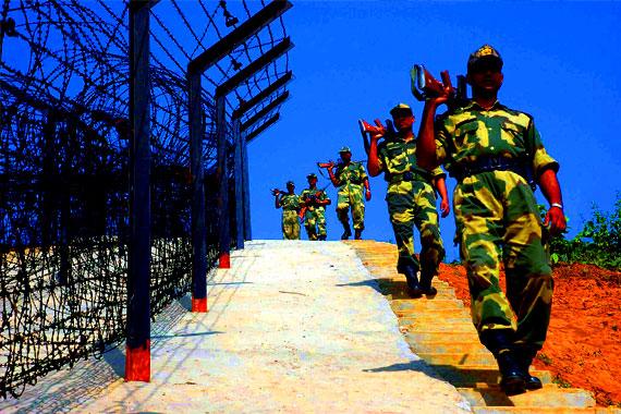 BSF picks up Bangladeshi from Burimari border