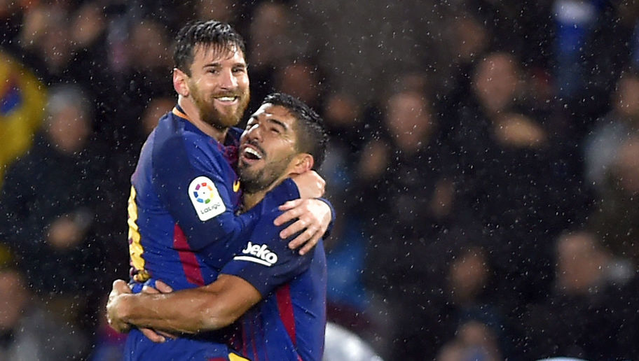Suarez, Messi lead Barcelona to 4-2 comeback win at Sociedad