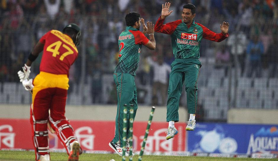 Bangladesh restrict Zimbabwe to 170
