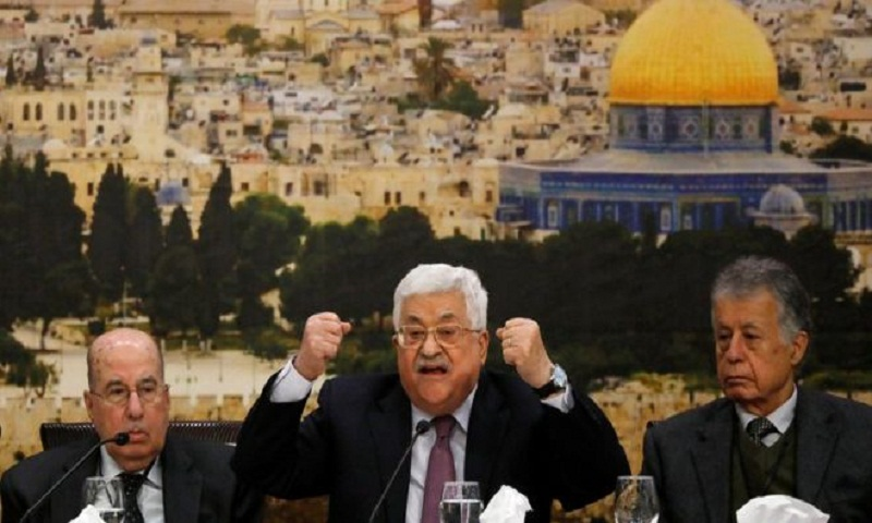 Jerusalem embassy: Abbas says Trump plan 'slap of the century'